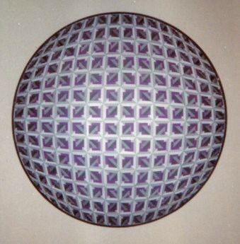 158 - Rotation in ballshape I (litho, orig. sold) [40x40]